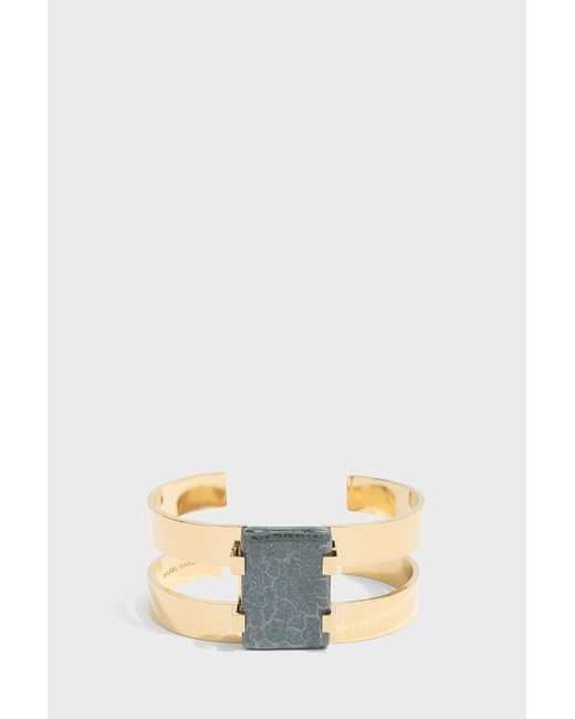 Isabel Marant - Multicolor Stone Cuff Bracelet - Lyst