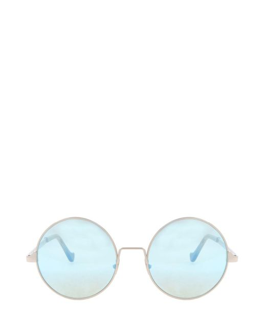 Cutler & Gross | Multicolor Round Mirror Sunglasses | Lyst