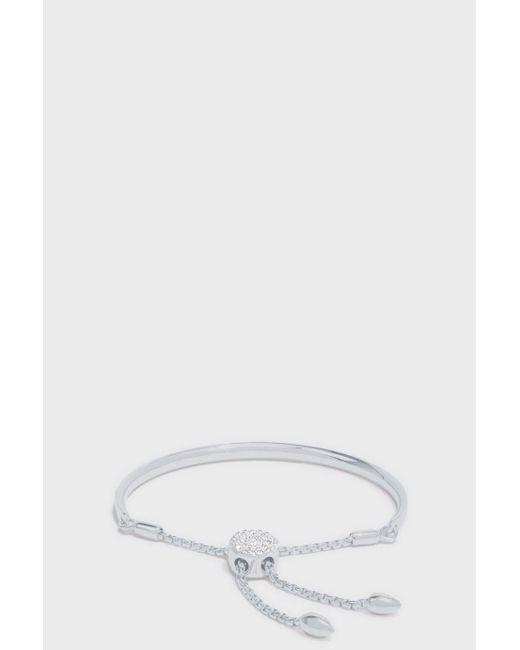Monica Vinader | Multicolor Petite Fiji Diamond Toggle Bracelet | Lyst