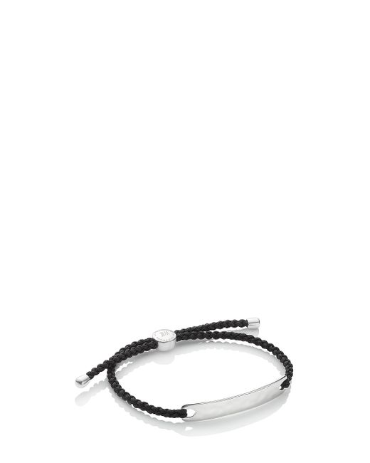 Monica Vinader | Black Havana Men's Bracelet for Men | Lyst