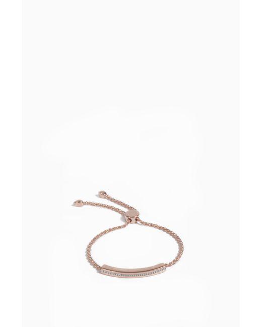 Monica Vinader | Multicolor Linear Large Friendship Bracelet | Lyst