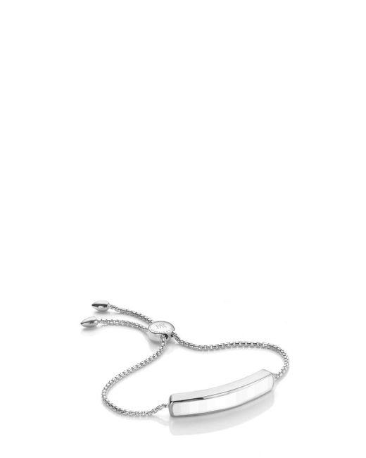 Monica Vinader | Multicolor Chalcedony Baja Bracelet | Lyst