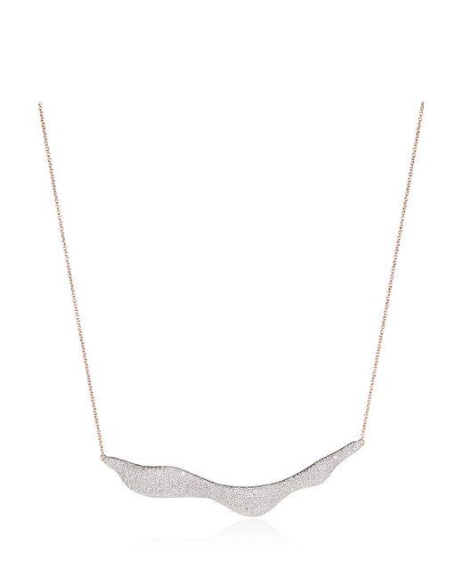 Monica Vinader   Multicolor Riva Diamond Necklace   Lyst
