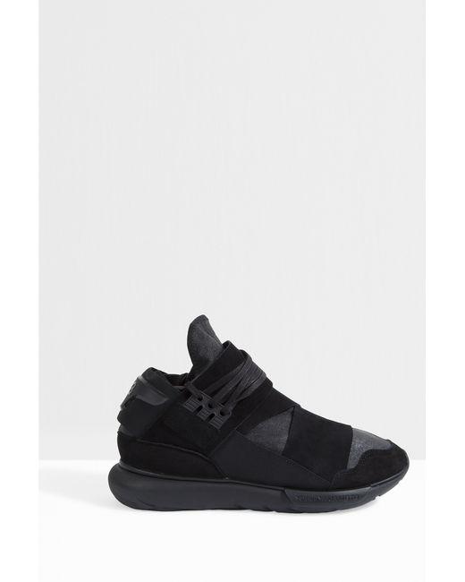 Y-3 | Black Y-3 - High-top Sneakers for Men | Lyst