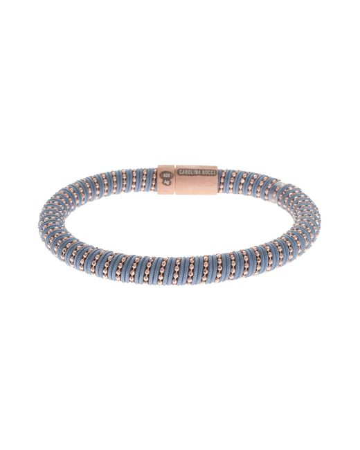 Carolina Bucci | Gray Rose Gold Twister Bracelet | Lyst