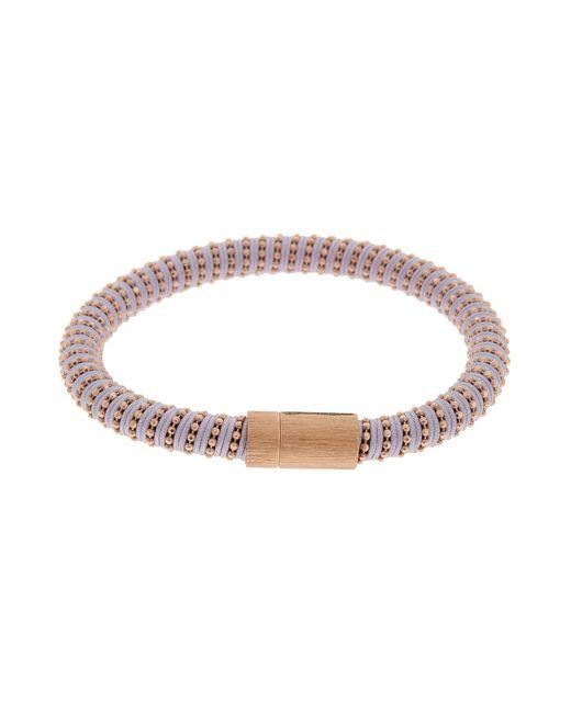 Carolina Bucci | Purple Rose Gold Twister Bracelet | Lyst