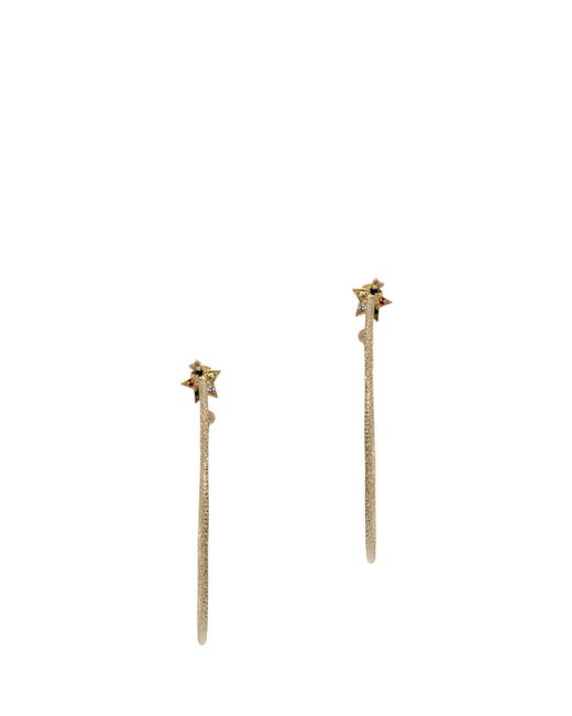 Carolina Bucci   Metallic Large Star Hoop Earrings   Lyst