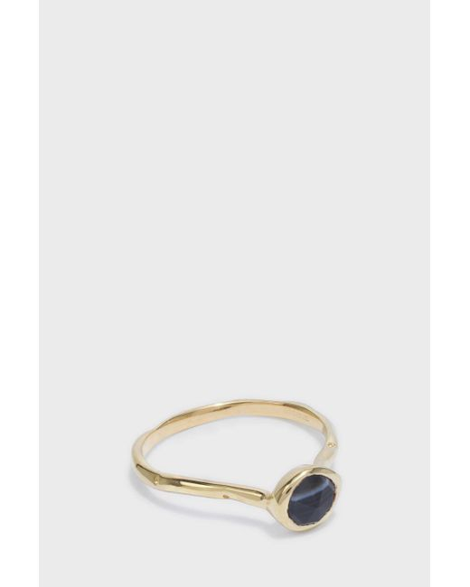 Monica Vinader | Multicolor Siren Small Stacking Ring | Lyst