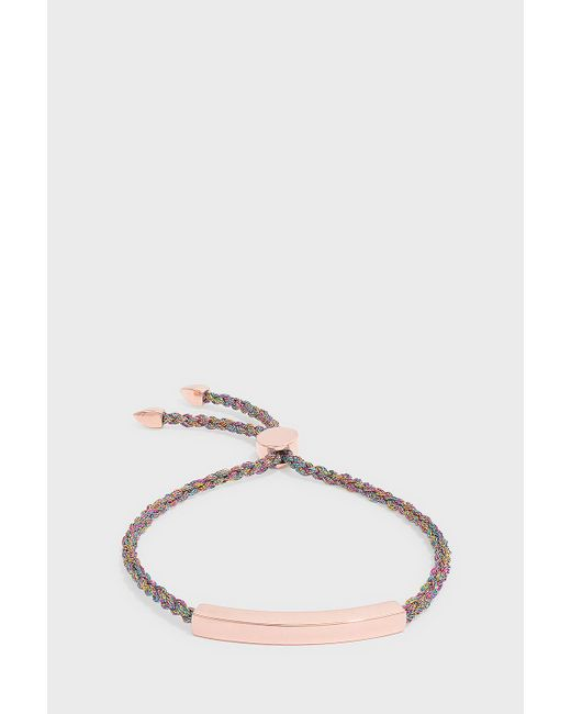 Monica Vinader - Multicolor Linear Friendship Large Bracelet, Os - Lyst