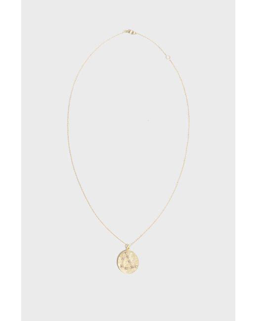 Brooke Gregson - Multicolor Capricorn Diamond Necklace, Size Os, Women, Y Gold - Lyst