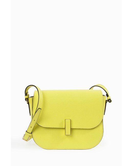 Valextra | Yellow Iside Crossbody Bag | Lyst