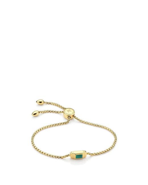 Monica Vinader - Metallic Baja Deco Bracelet - Lyst