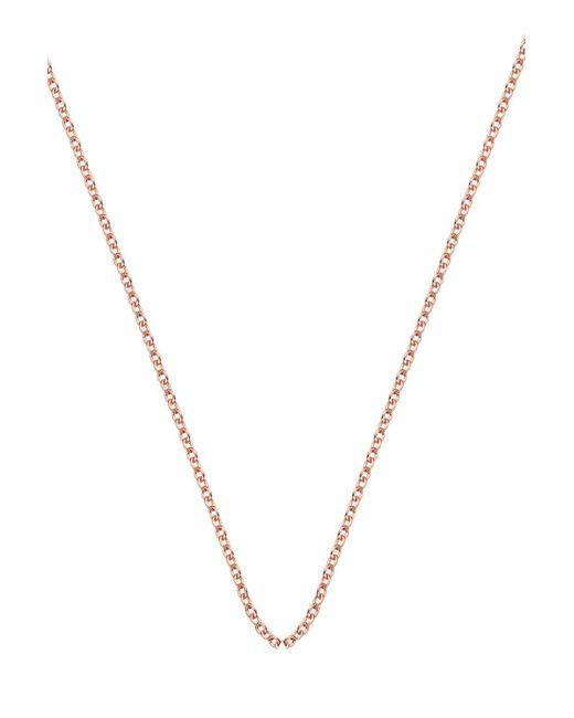 Monica Vinader | Metallic Rolo Chain 30-32 Inch | Lyst