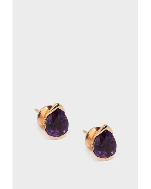 Fernando Jorge | Multicolor Bloom 18-karat Rose Gold Diamond And Amethyst Earrings | Lyst