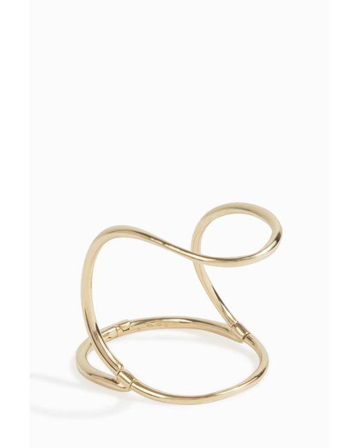 Charlotte Chesnais | Metallic Neo Bond Hand Wrap Bracelet | Lyst
