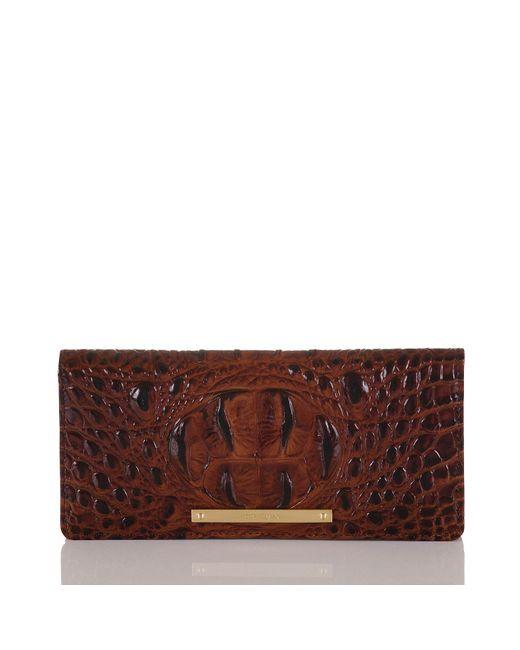 Brahmin | Brown Melbourne Ady Wallet | Lyst