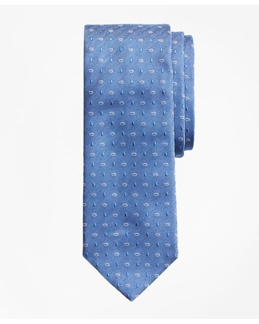 Brooks Brothers - Blue Heathered Pine Tie for Men - Lyst