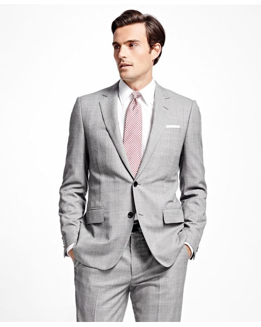 Brooks Brothers | Black Fitzgerald Fit Golden Fleece® Plaid With Deco Suit for Men | Lyst