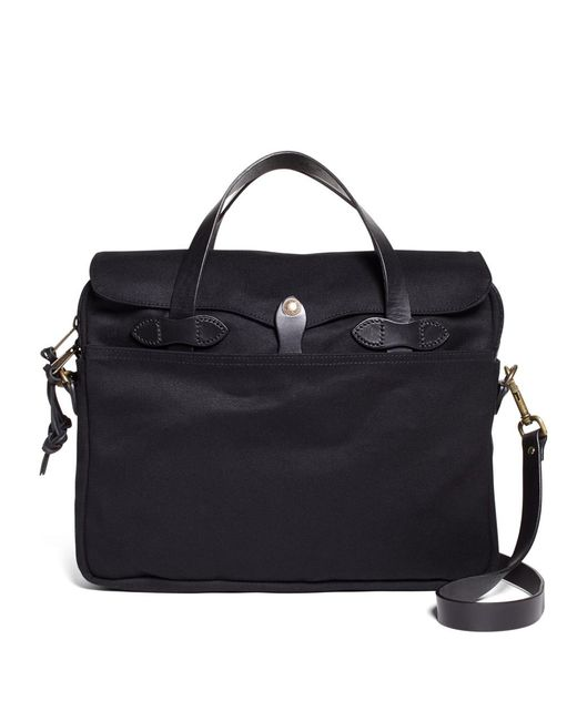 Brooks Brothers - Black Filson® Twill Briefcase for Men - Lyst