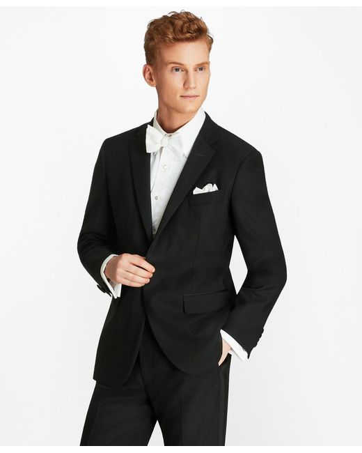 Brooks Brothers - Black Milano Fit One-button 1818 Tuxedo for Men - Lyst