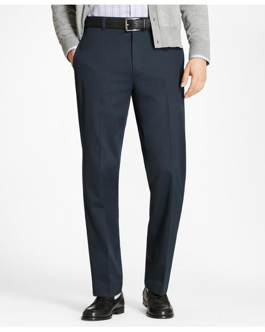 Brooks Brothers - Blue Hudson Fit Lightweight Stretch Advantage Chinos® for Men - Lyst