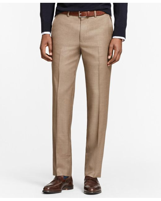 Brooks Brothers | Multicolor Milano Fit Stretch Wool Trousers for Men | Lyst