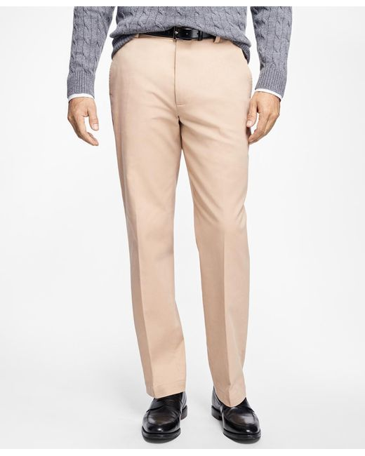 Brooks Brothers | Multicolor Clark Fit Supima® Cotton Stretch Chinos for Men | Lyst