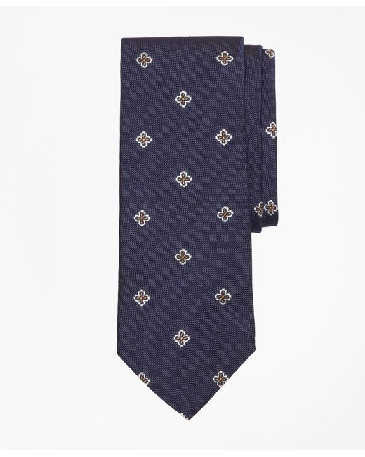 Brooks Brothers - Blue Textured Four-petal Flower Tie for Men - Lyst