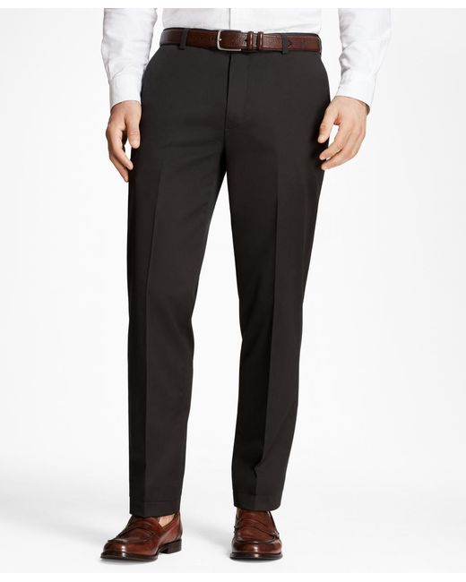 Brooks Brothers - Black Milano Fit Lightweight Stretch Advantage Chinos® for Men - Lyst