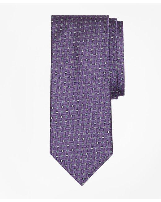 Brooks Brothers - Purple Parquet Tie for Men - Lyst
