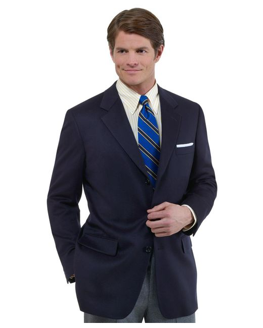 Brooks Brothers | Blue Madison Fit Three-button Cashmere Sport Coat for Men | Lyst