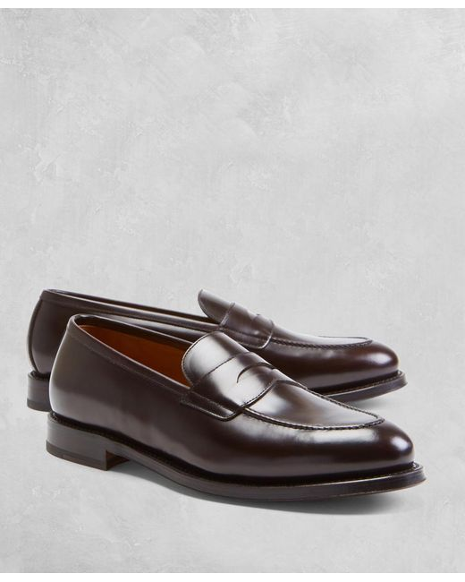 Brooks Brothers - Brown Golden Fleece® Penny Loafers for Men - Lyst