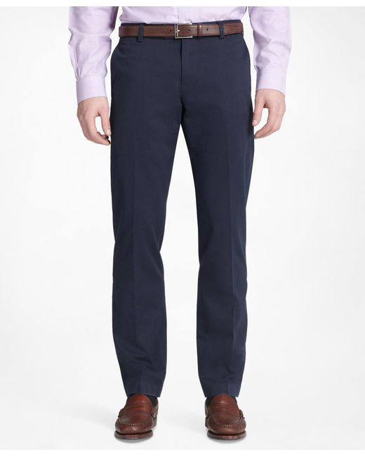 Brooks Brothers   Blue Milano Advantage Chinos® for Men   Lyst