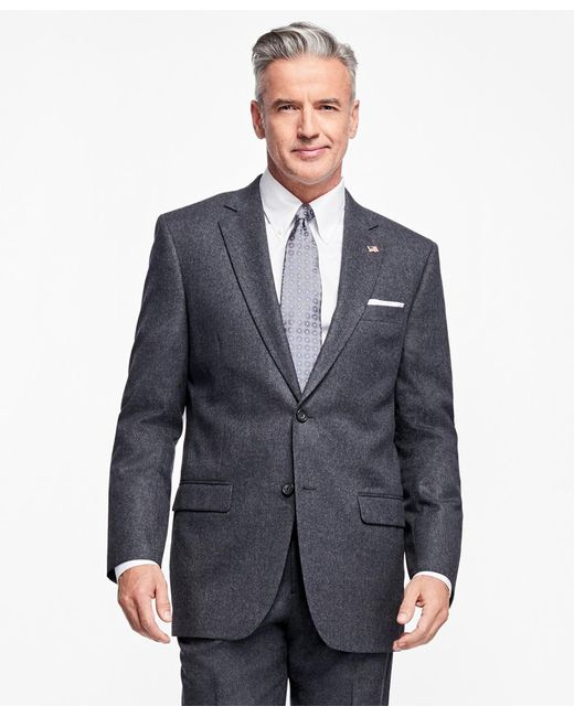 Brooks Brothers | Multicolor Madison Fit Stretch Flannel 1818 Suit for Men | Lyst