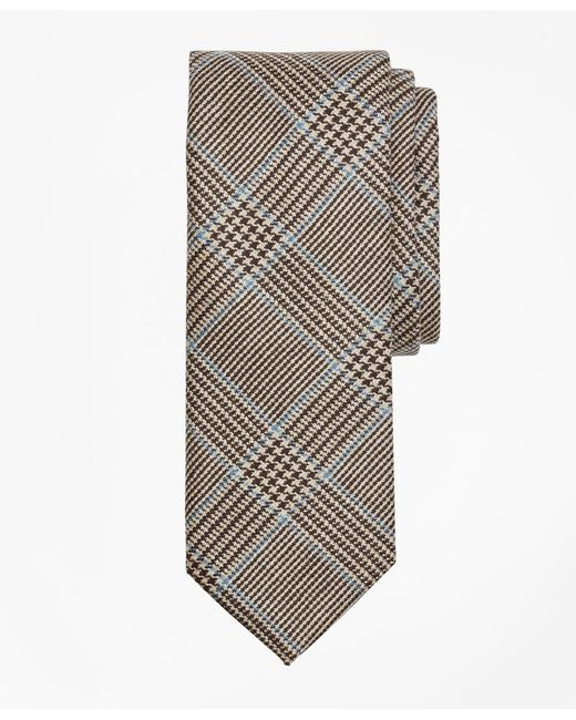 Brooks Brothers - Brown Plaid Tie for Men - Lyst