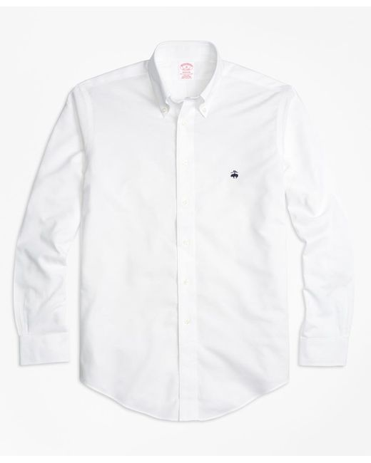 Brooks Brothers - White Non-iron Madison Fit Oxford Sport Shirt for Men - Lyst