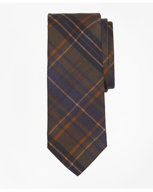 Brooks Brothers - Green Ancient Madder Plaid Print Tie for Men - Lyst