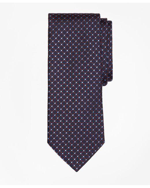 Brooks Brothers - Blue Fancy Dot Tie for Men - Lyst