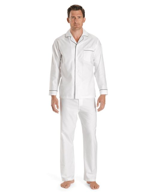Brooks Brothers - White Wrinkle-resistant Oxford Pajamas for Men - Lyst