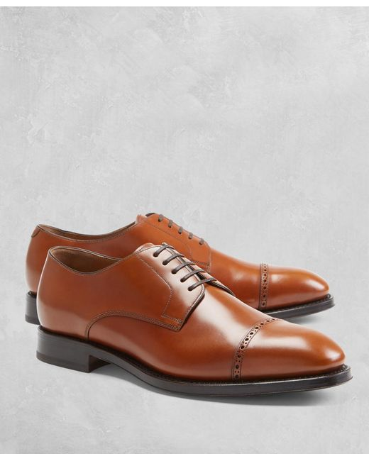 Brooks Brothers - Brown Golden Fleece® Brogue Captoes for Men - Lyst