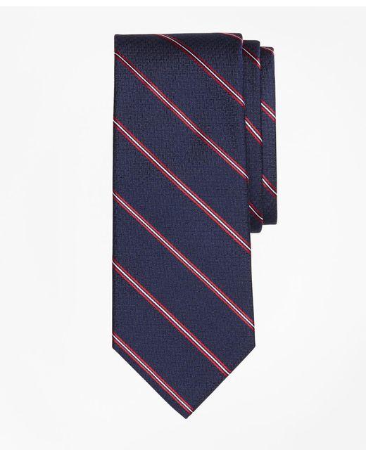 Brooks Brothers - Blue Spaced Framed Stripe Tie for Men - Lyst