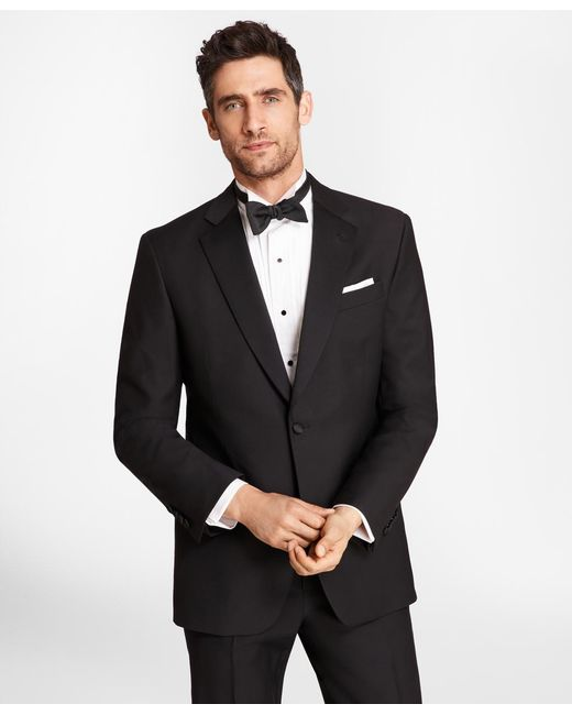 Brooks Brothers - Black Wool Tuxedo Jacket for Men - Lyst