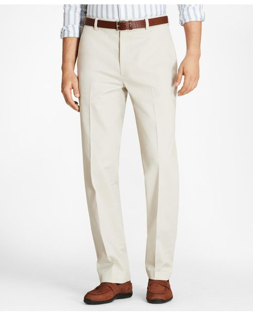 Brooks Brothers - Multicolor Hudson Fit Stretch Advantage Chinos® for Men - Lyst