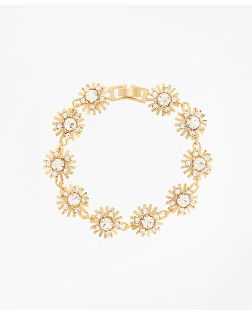 Brooks Brothers | Metallic Crystal Starburst Bracelet | Lyst