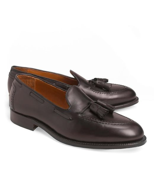 Brooks Brothers | Purple Calf Tassel Loafers for Men | Lyst