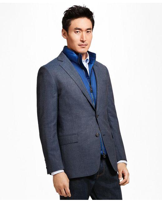 Brooks Brothers | Blue Regent Fit Hopsack Sport Coat for Men | Lyst
