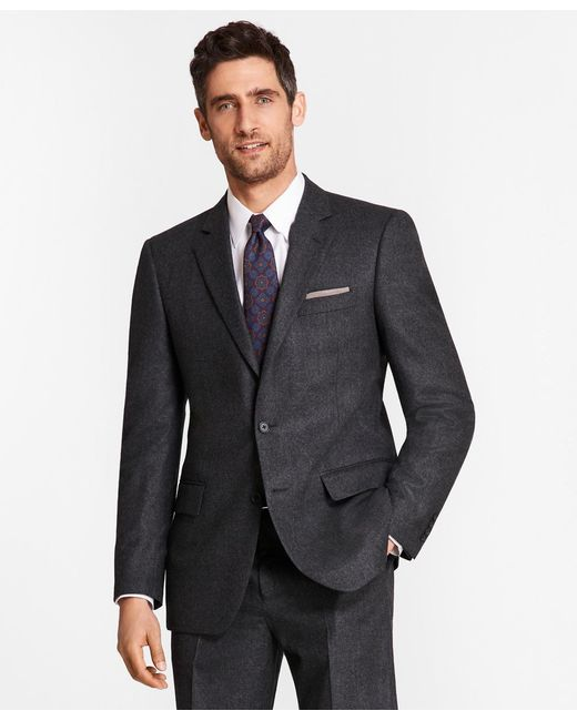 Brooks Brothers - Multicolor Madison Fit Stretch Flannel 1818 Suit for Men - Lyst