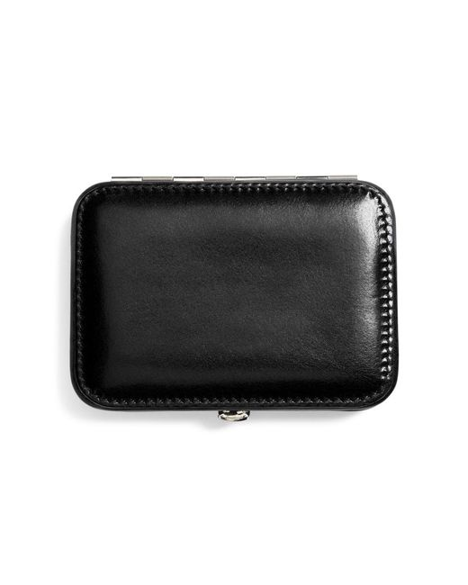 Brooks Brothers - Black Leather Business Card Case for Men - Lyst