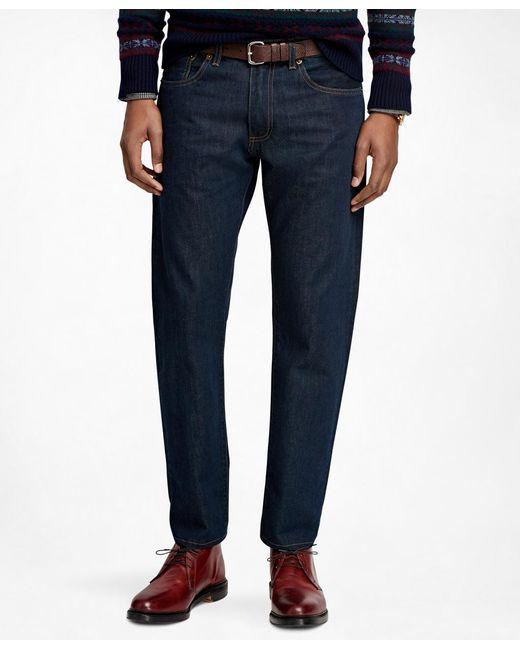 Brooks Brothers - Blue Supima® Denim Slim Fit Jeans for Men - Lyst