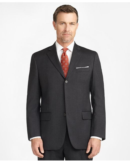 Brooks Brothers | Gray Madison Fit Three-button 1818 Suit for Men | Lyst